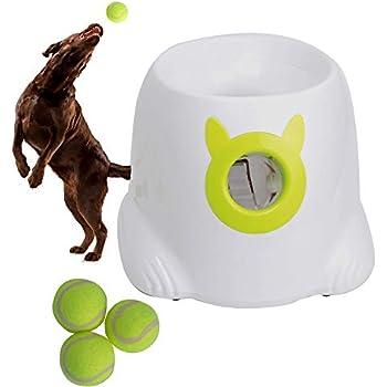 Pet Supplies : LUCKYERMORE Automatic Dog Ball Launcher