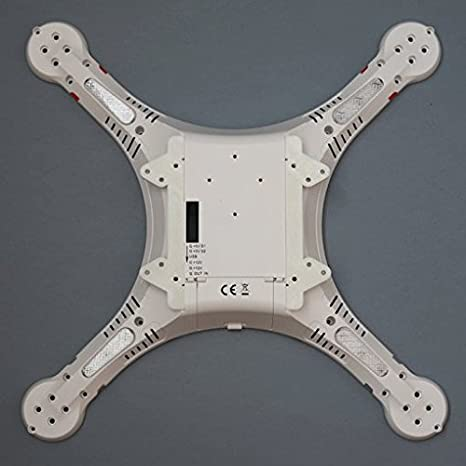 DIBUJOTECNICO.COM Adaptador Patas dji F450 para Cheerson CX20 ...
