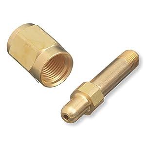 CGA-347 Nut & Nipple, Regulator Inlet Bottle Fittings – Air/High Pressure
