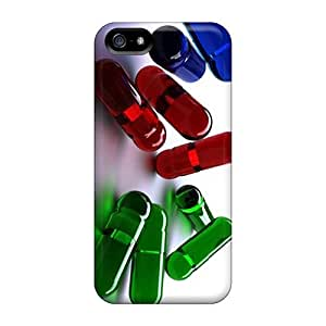 Awesome Design Capsules Hard Case Cover For Iphone 5/5s