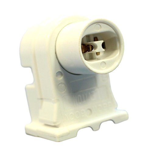 T12 Fluorescent Fixtures (Leviton High Output T8 T12 Fluorescent Light Lamp Holder Socket Plunger 13550)
