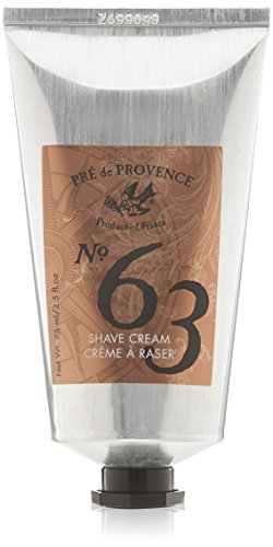 No. 63 Men's Shave Cream, Aromatic, Warm, & Spicy Masculine Fragrance, Enriched With Natural & Repairing Shea Butter (2.5 fl oz)