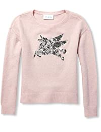 f506d20101 Big Girls Long Sleeve Graphic Sweater. The Children s Place