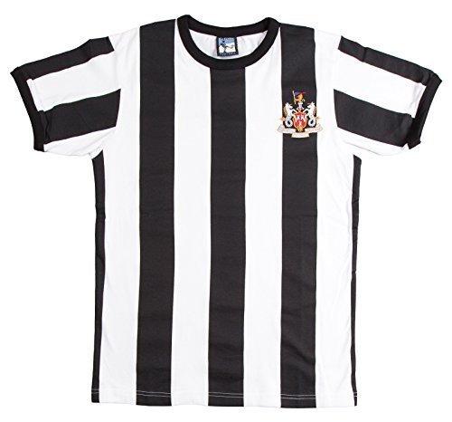 Old School Football Newcastle United 1960s Fu/ßball T-Shirt Trikot Kurze /Ärmel
