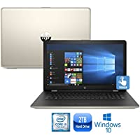 """HP 17-bs021ds Intel Core i3-7100, 2TB HDD, 17.3"""" HD+ Touch-Screen Laptop (Certified Refurbished)"""
