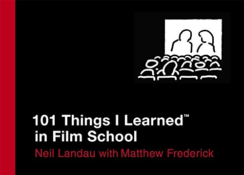 Resultat d'imatges de 101 things i learned in film school