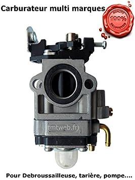 Carburador para cortacésped, multifunción 4en 1, herramienta sobre Pértiga y barreno