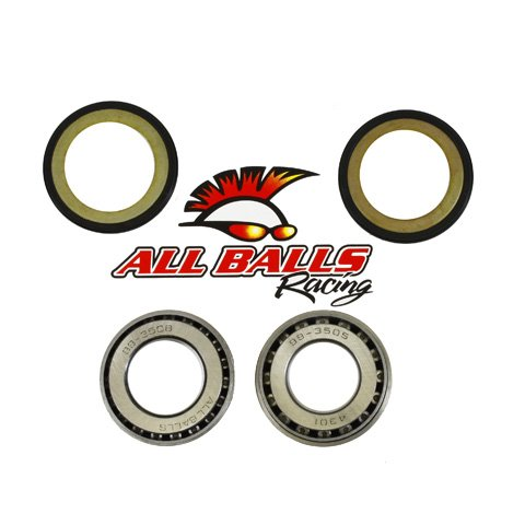 All Balls Steering Stem Bearing Kit for Suzuki GS250T/300L
