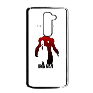 LG G2 Cell Phone Case Black The Avengers Iron Man Poster C9K8OU