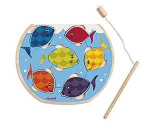 Janod - Speedy Fish, puzzle magnético (J07008)