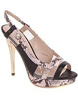 Versace Chaussures Femmes à hauts talons Sandales à brides Noir BS02