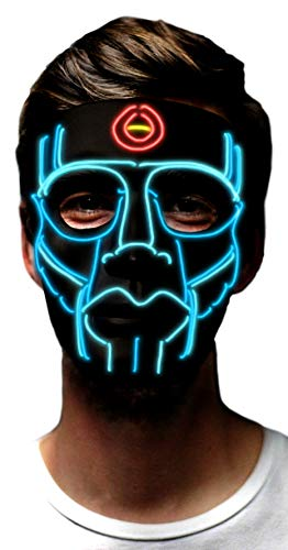 MuraK Light up Mask Sound Activated [ LED