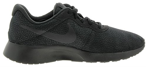 Leder Schwarz Sneaker Tanjun Premium Synthetik Nike Schwarz Herren Iqaav