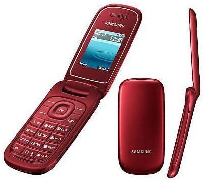Samsung E1270 Rosso – Aperto per tutte le reti: Amazon.it
