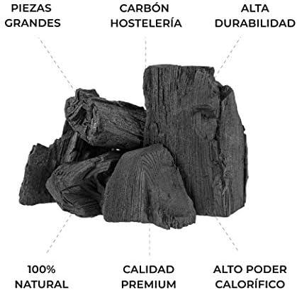 Barbecue à charbon végétal naturel sans fumée pour barbecue, haut pouvoir calorifique.