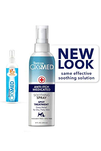 tropiclean oxymed spray