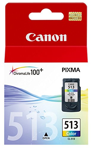 245 opinioni per Canon CL-513 Pixma MP260 Inkjet / getto d'inchiostro Cartuccia originale