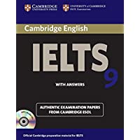 Cambridge English IELTS 9: with Answers and 2 Audio CDs: With Answers (with CD)