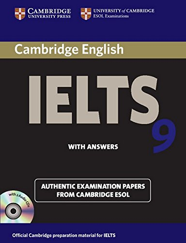 Ielts books buy books for ielts exam preparation online at best cambridge english ielts 9 with answers and 2 audio cds with answers with fandeluxe Choice Image