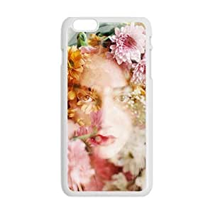 Glam Flower Girl Creative Cell Phone Case For Iphone 6 Plaus by Maris's Diaryby Maris's Diary