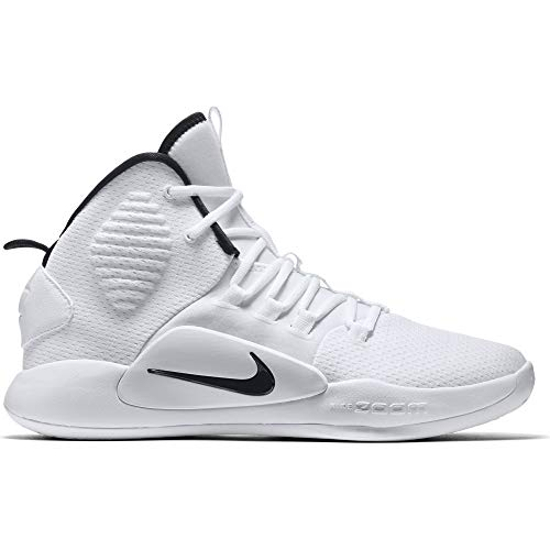 d24ebbcef3d9 Nike Men s Hyperdunk X Team Basketball Shoe White Black Size 10.5 M US