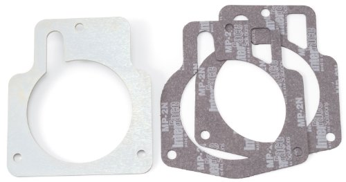 Edelbrock 2737 Throttle Body Adapter Plate; LS1 Throttle Body To 90mm Opening;