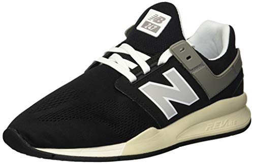 Mens Black Bone - New Balance Men's 247v2 Sneaker, Black/Bone, 9.5 D US