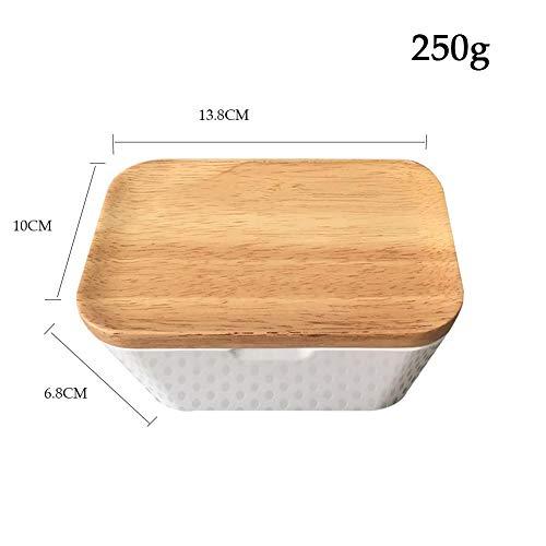 Multi-Function Crisper/Storage Box/Butter Box (225g 250g 400g Holding) - 400g Box