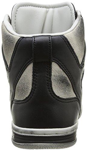 Converse Weapon Hi Leather/suede - Zapatillas Unisex adulto Black/Vap.Grey