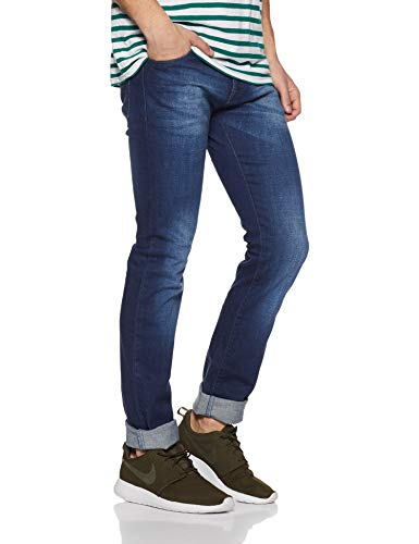 Pepe Jeans Men's Slim Fit Stretchable Jeans