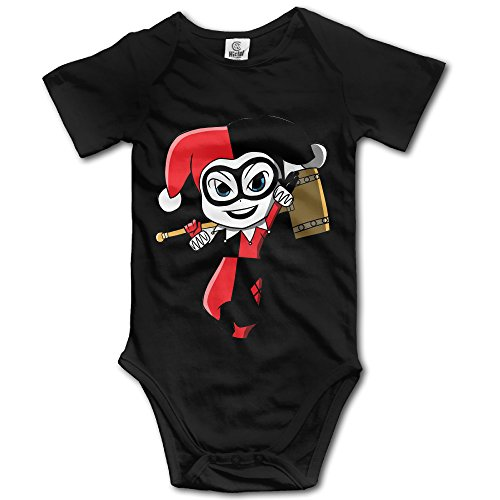 Harley Quinn Unisex For Cute Kids Baby Pack Lightweight Bodysuits (Kids Harley Quinn Mallet)