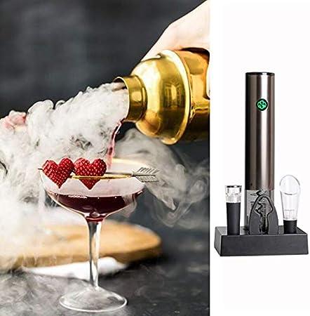 Sacacorchos Abridor De Vino Eléctrico, Sacacorchos Automático, Sensor De Contacto Recargable, Juego De Abridor De Botellas De Vino, Vertedor De Vino Para Amantes Del Vino