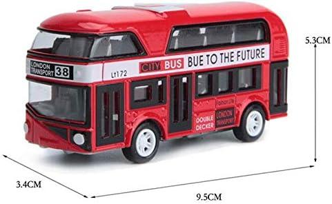 Rose Lopbinte Autobus /à Imp/éRiale London Bus Design Cars Jouets de Tourisme V/éHicules de Transport en Commun V/éHicules de Transport Urbain