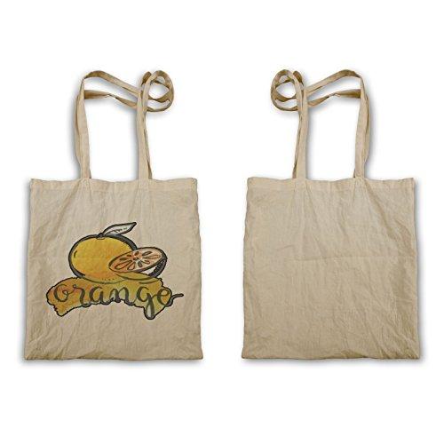 Arancione Divertente Frutta Deliziosa Tote Bag R830r