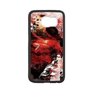 Cristiano ronaldo D-Y-Y5027312 SamSung Galaxy S6 Phone Back Case Art Print Design Hard Shell Protection