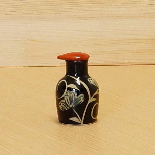 - Imari Japanese Arita-yaki Soy Sauce Bottle (Flower Arabesque Pattern) Black from Japan 02112057