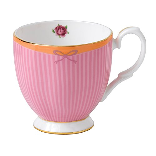 - Royal Albert Candy Vintage Mug Sweet Stripe, 10.5 oz