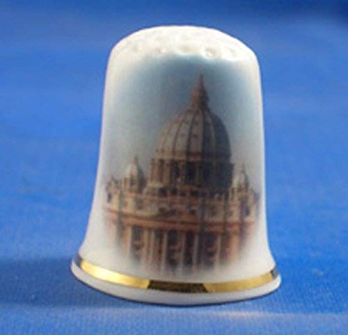 Ditale in porcellana China, collezione Città del Vaticano Roma Italia Birchcroft China