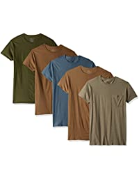 Men's Crew Neck T-Shirt (Pack of 4)