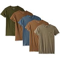 Fruit of the Loom Men's Crew Neck T-Shirt (Pack of 4)