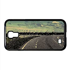 Road Landscape Watercolor style Cover Samsung Galaxy S4 I9500 Case (Landscape Watercolor style Cover Samsung Galaxy S4 I9500 Case)