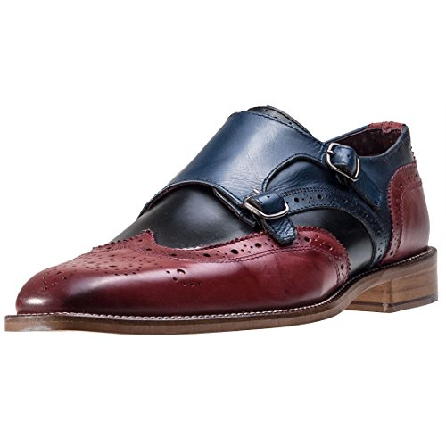 London Brogues Curtis Monk Hommes Derbies