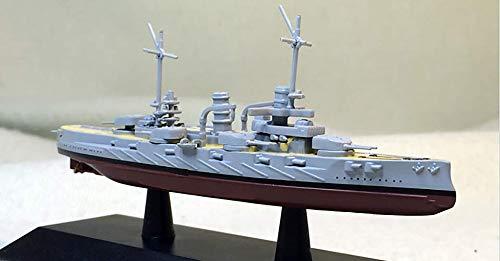 FloZ German Westfalen 1/1250 diecast Model Ship DEAGOSTINI Battle Ship