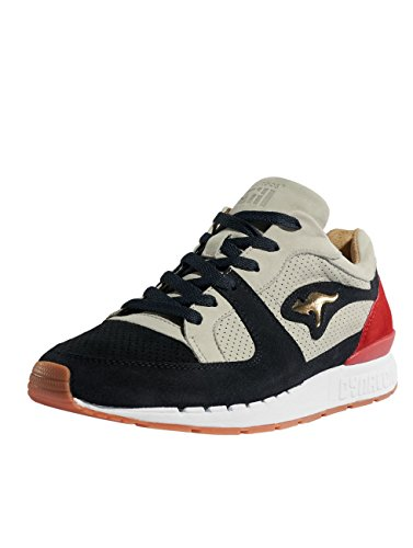 Chaussures playmaker baskets Homme R1 Made Gris In Kangaroos Coil Germany 4U5Zq8w8