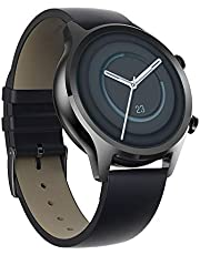 TicWatch C2 Plus 1GB RAM Wear OS by Google GPS NFC Payment IP68 Water and Dust Proof Smartwatch, Two Straps Included, iOS and Android Compatible (Onyx)