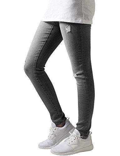 Femme Grey Ripped Gris Denim Classics Jeans Ladies Pants Urban AYq6gY