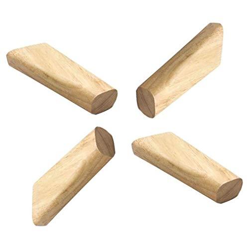 Pies de sofa de Madera Maciza de 12 cm, Patas de Muebles de Madera de Bricolaje, Mesa de Centro de pie de Repuesto, Patas de Mesa conicas oblicuas de 15 cm Pies de proteccion de Mayor engros