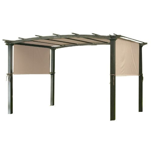 Universal Replacement Canopy - Universal Replacement Canopy for Pergola Structures - RipLock - Beige
