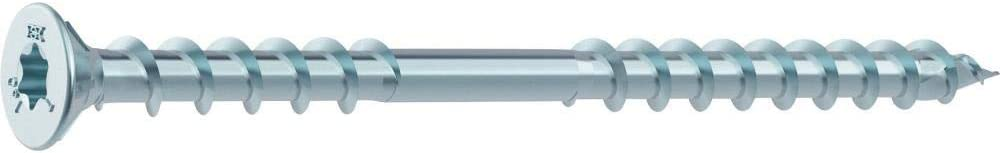 galvanised Blue Heco Therm countersunk Head torx 46843