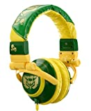 Skull Candy TI Stereo Headphones in Green / Yellow